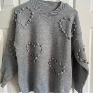 CHICWISH I grey sweater